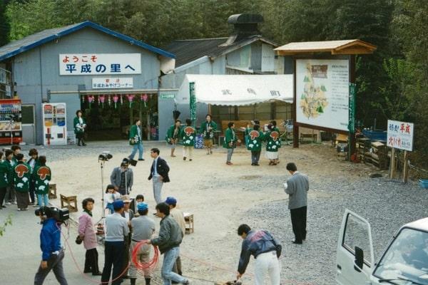 旧漬け物工場を土産売り場に(当時の写真)