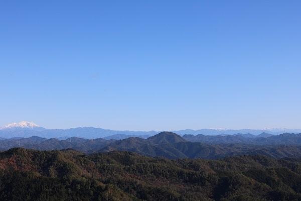 平成の山頂上からの眺望