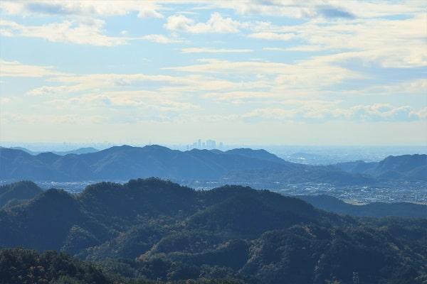 権現山頂上からの眺望