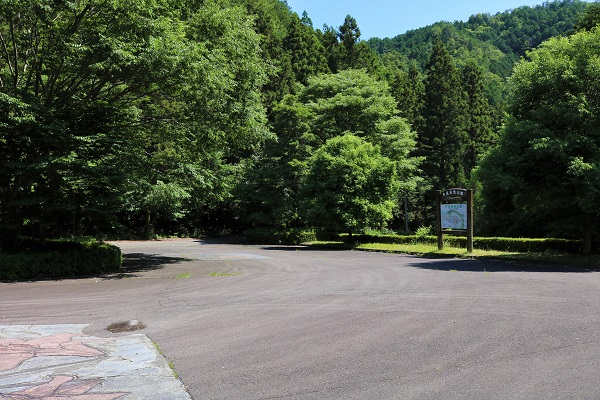平成自然公園の駐車場