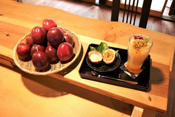 パッションフルーツかき氷(おくど)