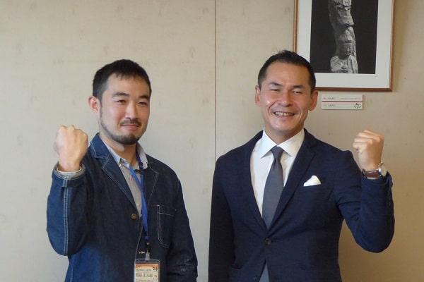 岡田丈太郎さんと関市長
